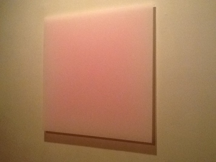 Pale Pink Square By Richard Alexander