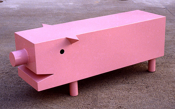 Pink Pig Table