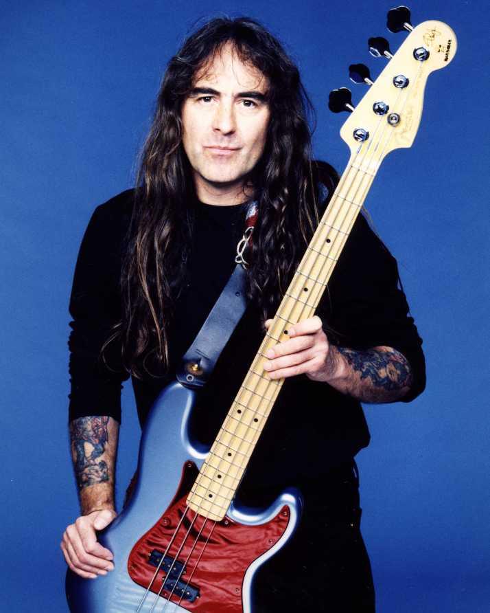 Steve Harris of Iron Maiden