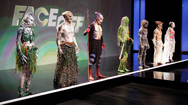 Syfy Face Off Episode 408 Models