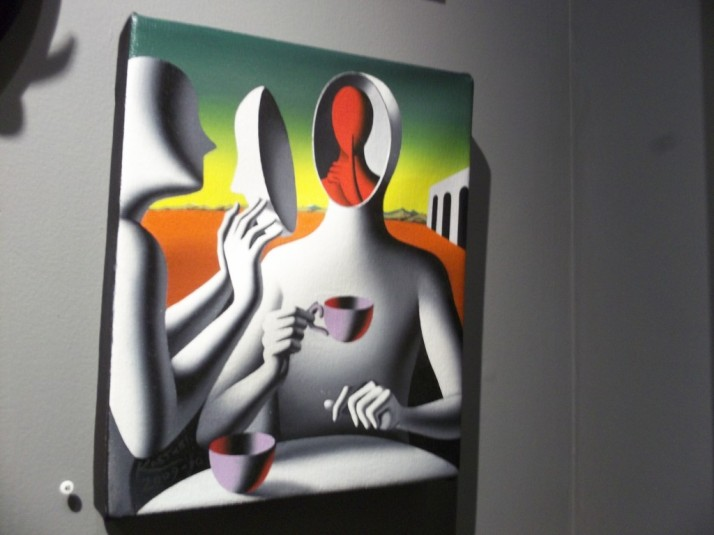 How About a Refill by Mark Kostabi
