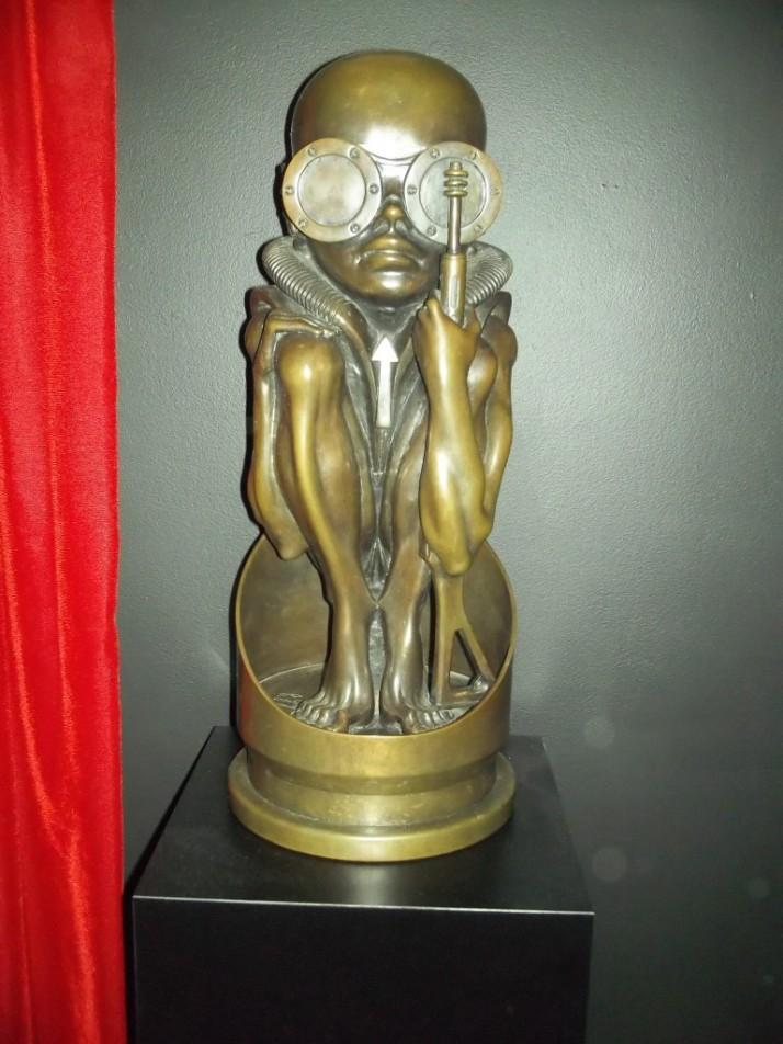 Sculpture By HR Giger