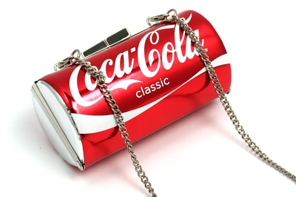Coke Can Purse with Chain