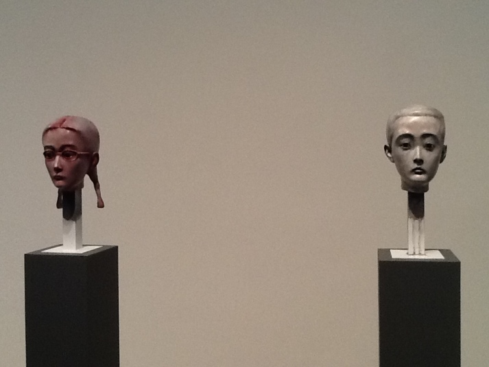 Zhang Xiaogang Two Busts