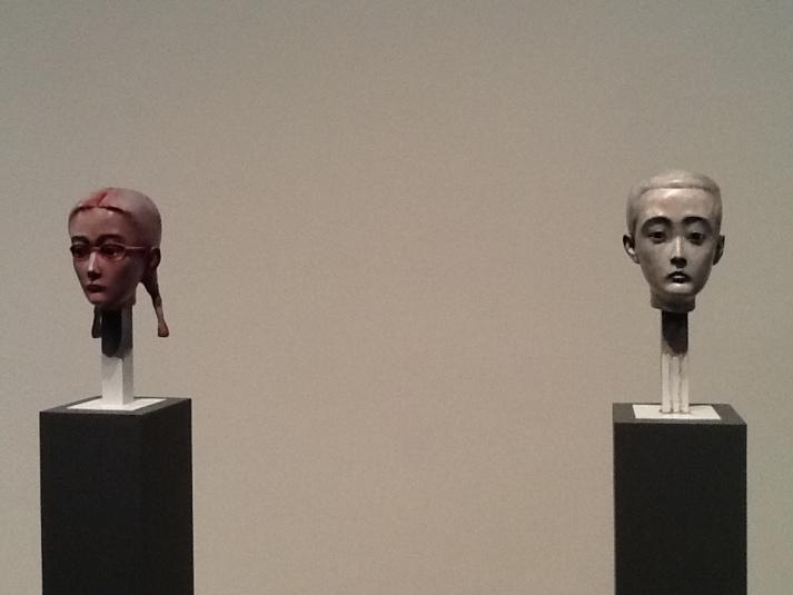 Zhang Xiaogang Two Busts