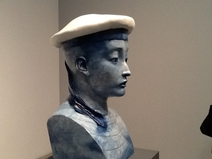 Zhang Xiaogang Boy in Sailor Hat