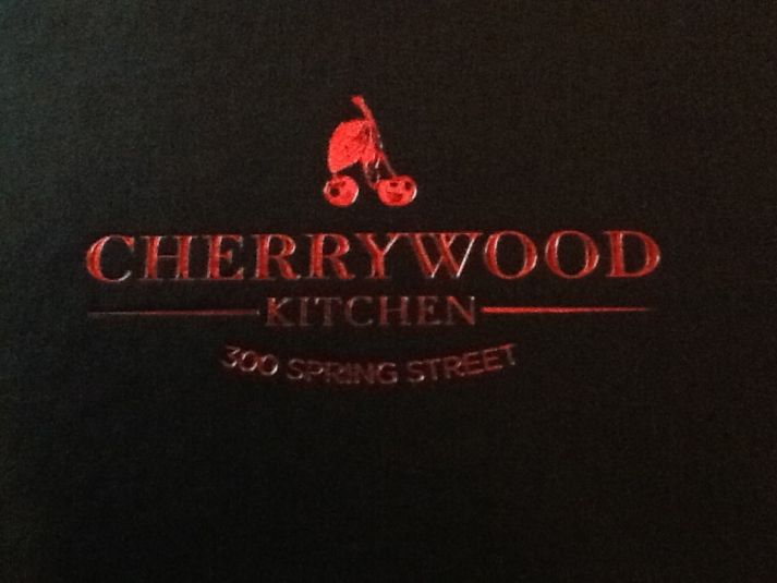 Cherrywood Kitchen Menu Cover
