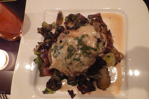 Ivy Brussels Sprouts with Bacon