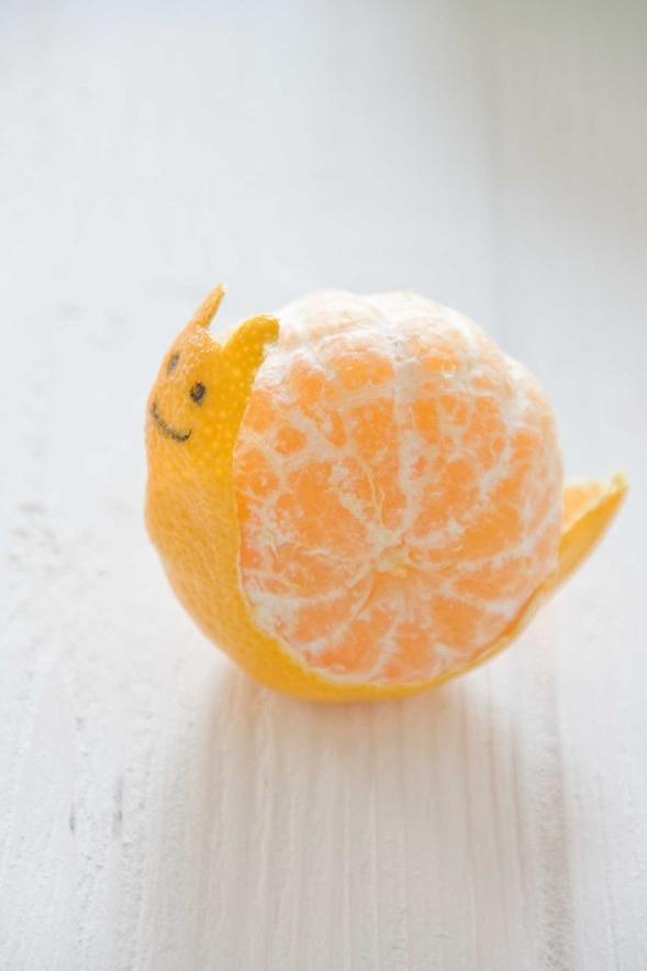Tangerine Snail