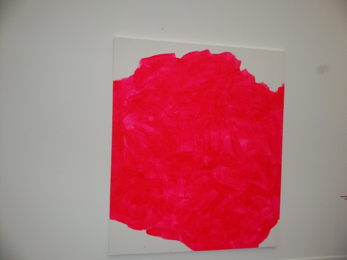 Hot Pink Canvas at Frieze