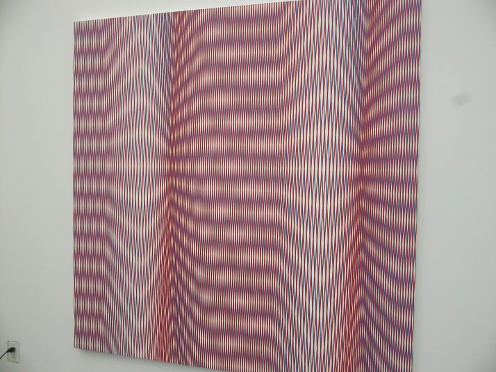 Pink Optical Illusion at Frieze