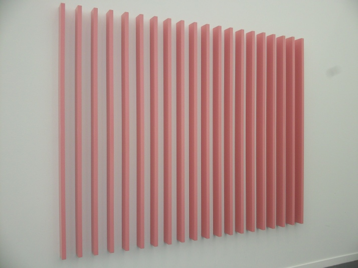 Pink Bars at Frieze
