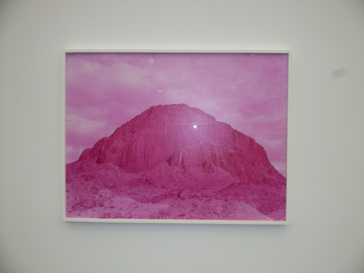 Pink Mountain at Frieze