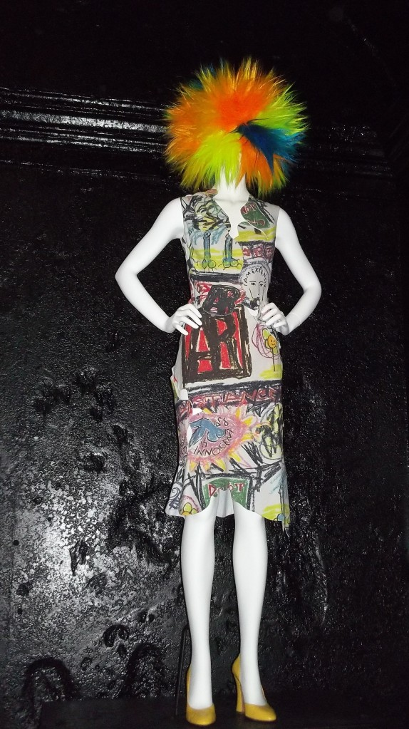 Chaos to Couture Rainbow Wig