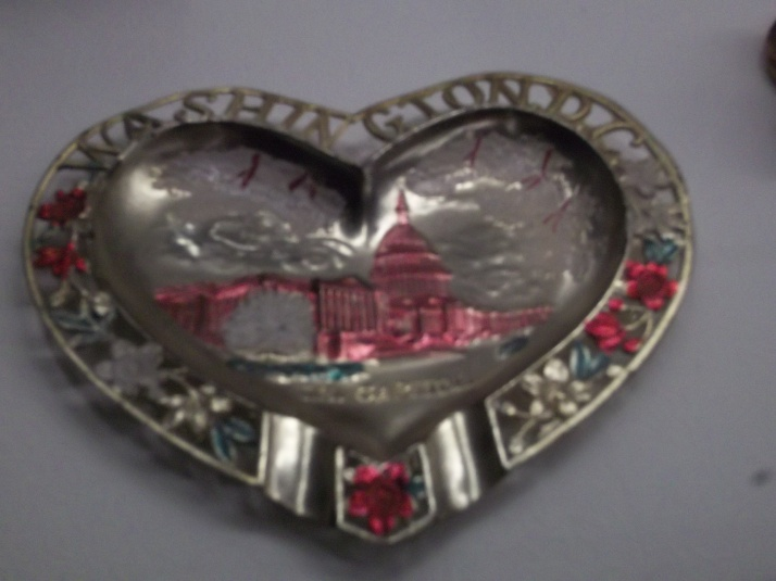 Washington DC Souvenir Ashtray