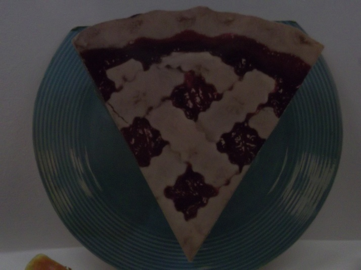 3D Cherry Pie Slice Ad