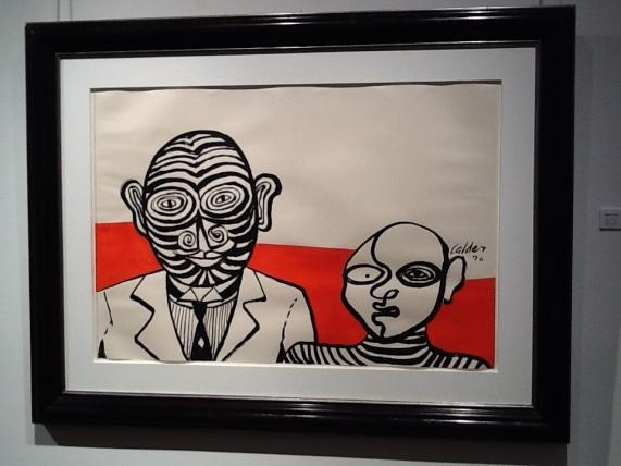 Alexander Calder Stripes and Stripes