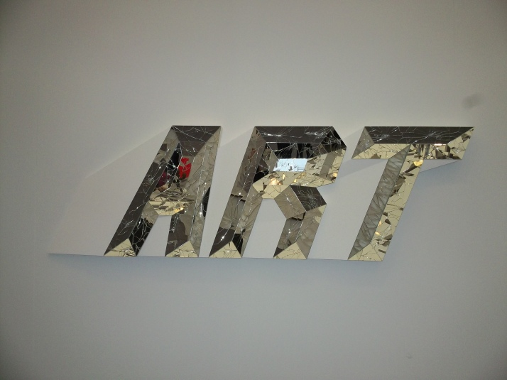 Art Spelled in Mirror
