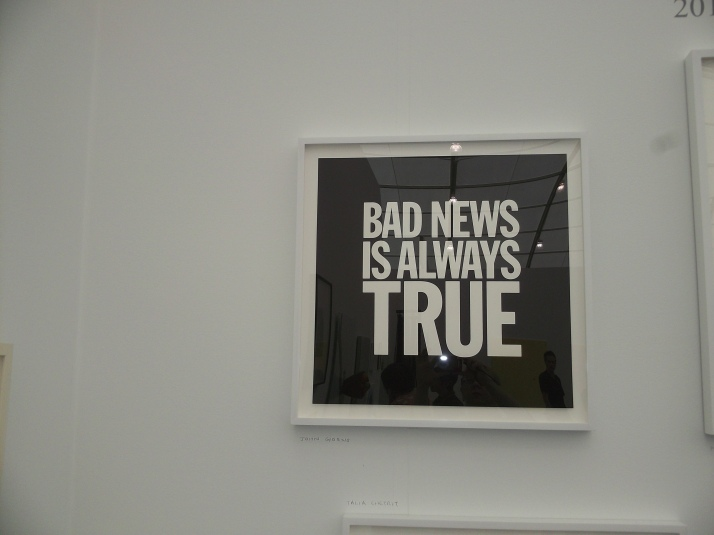 Bad News is Always True