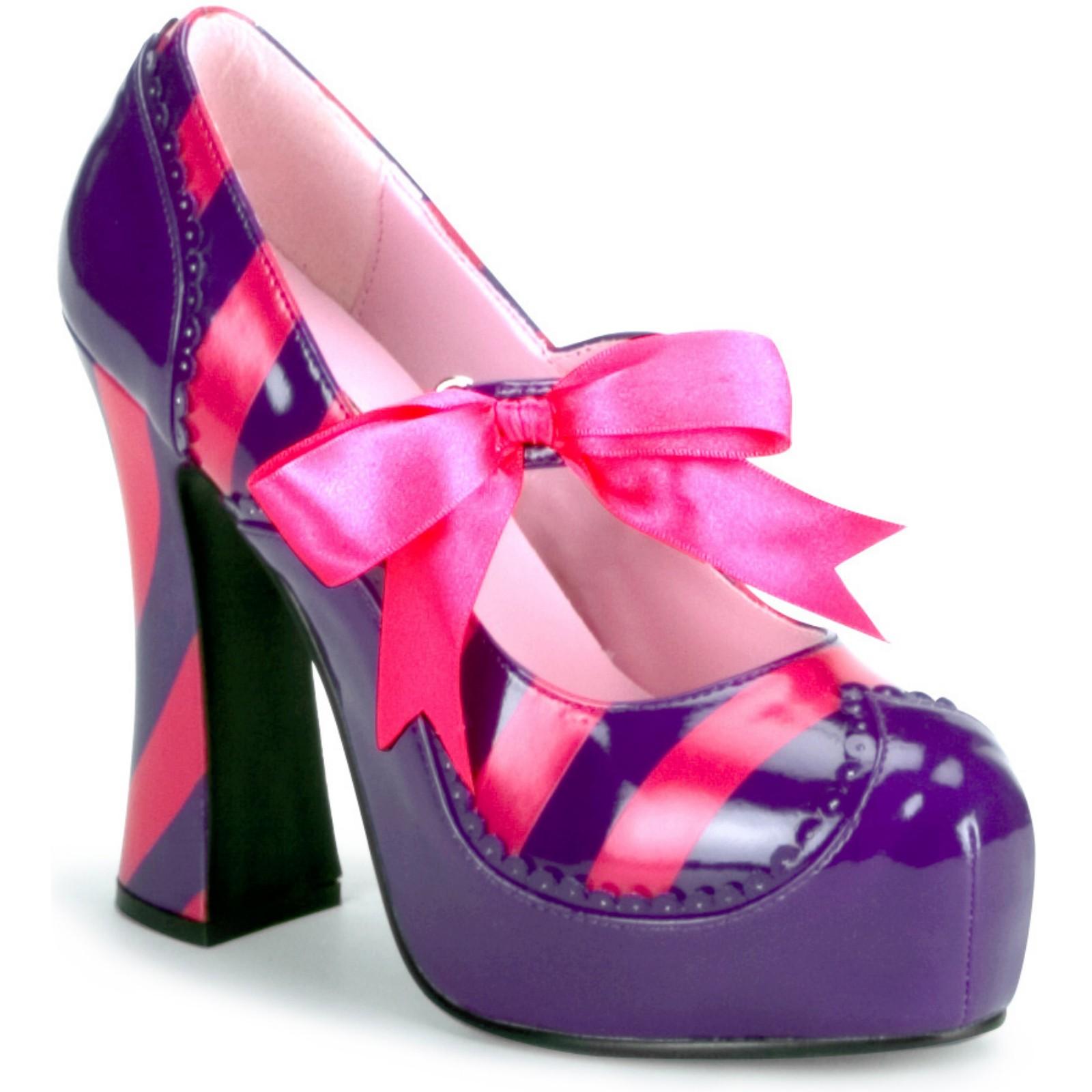cheshire cat inspired platform shoe the worley gig