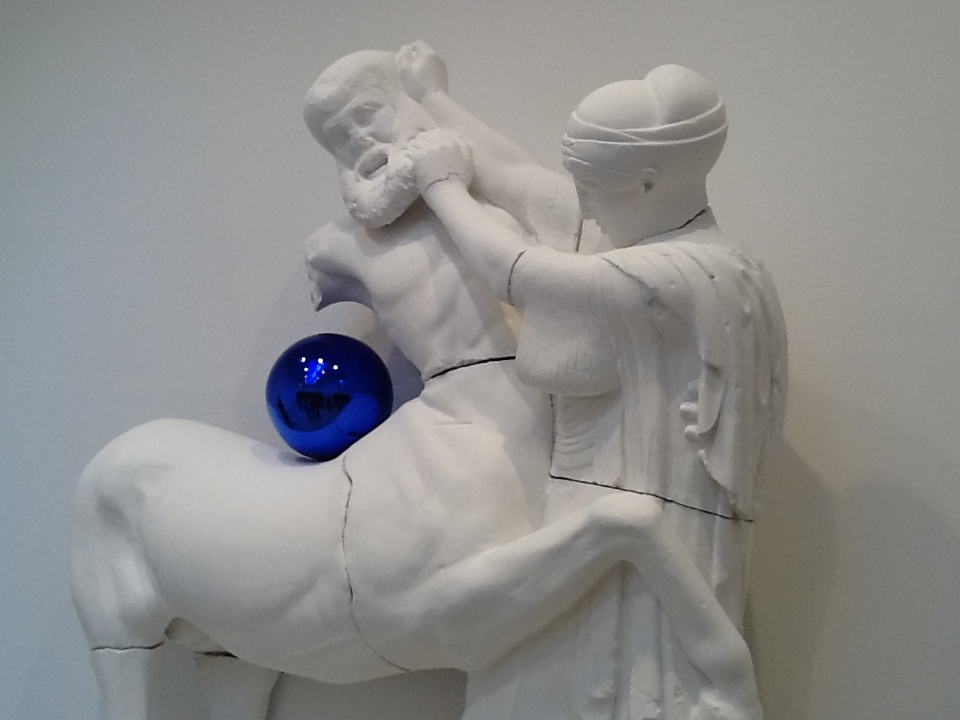 Gazing Ball By Jeff Koons at David Zwirner | The Worleygig