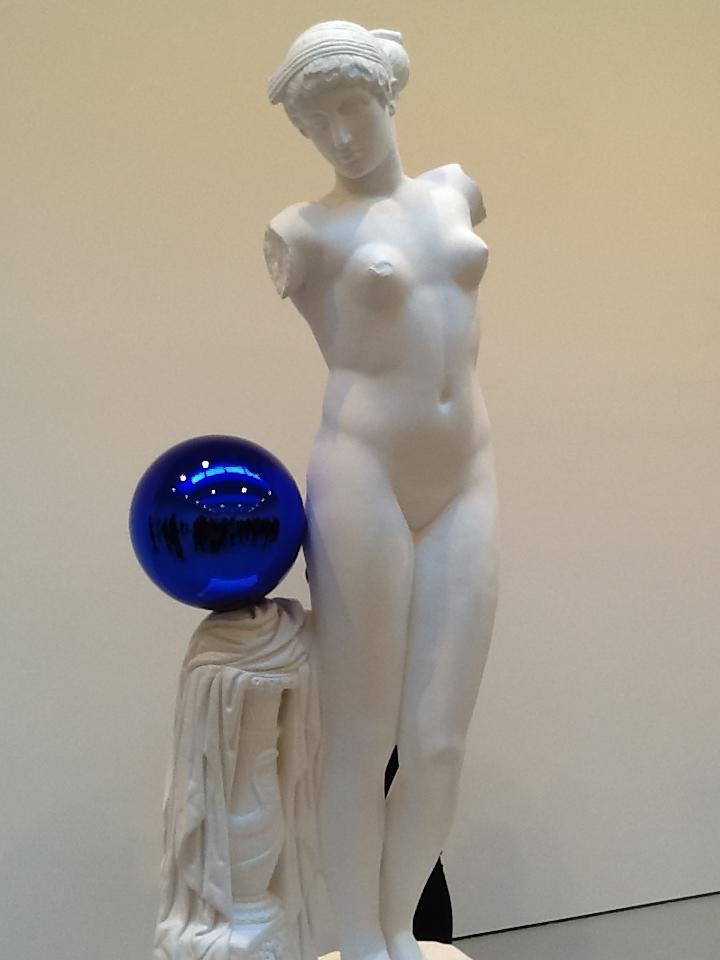 Gazing Ball By Jeff Koons at David Zwirner   The Worleygig