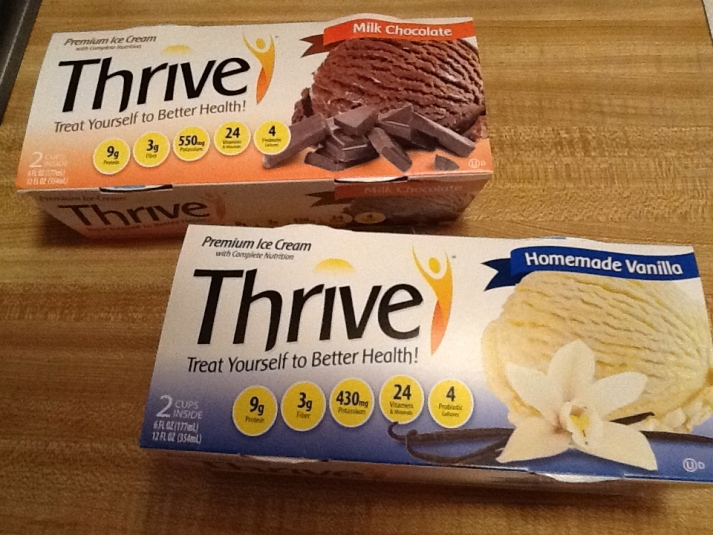 Thrive Ice Cream Packaging