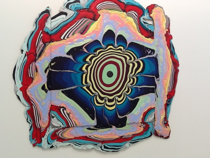 Holton Rower Pour Painting 1