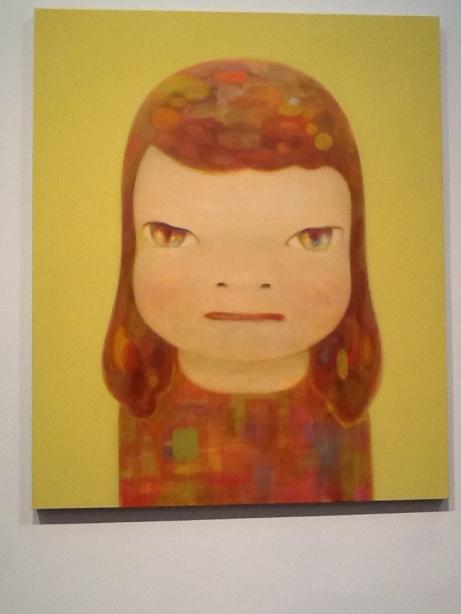 Yoshitomo Nara Girl Face