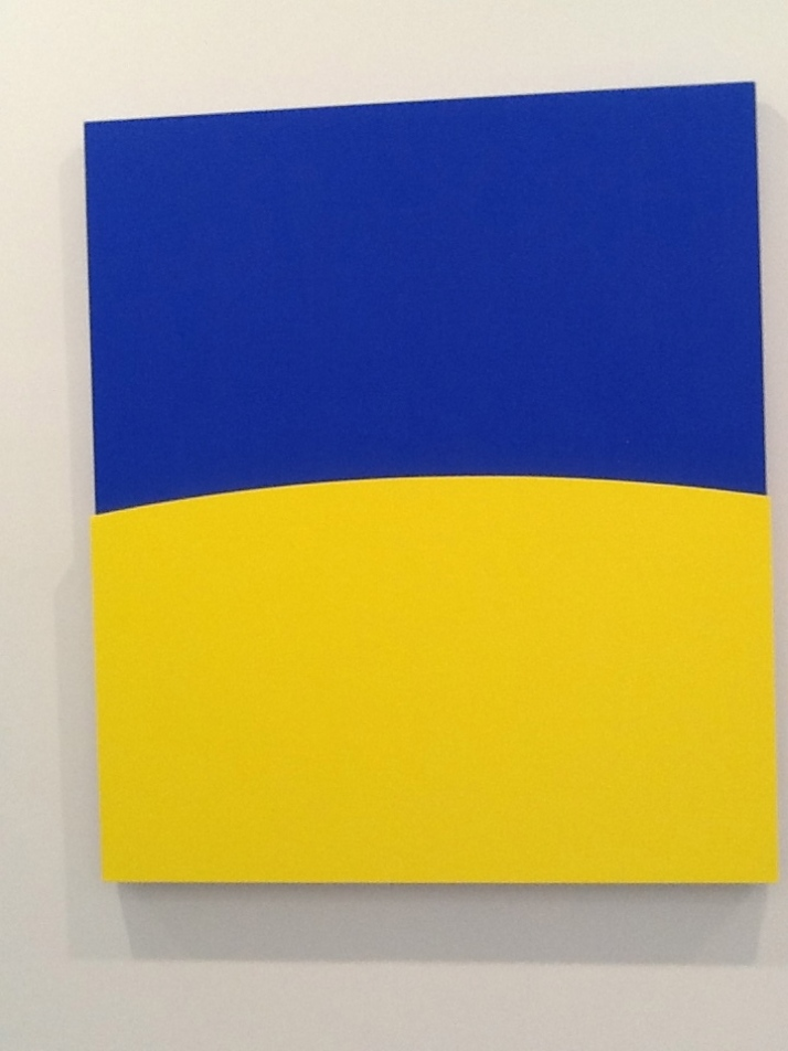 Ellsworth Kelly at Ninety Blue and Yellow