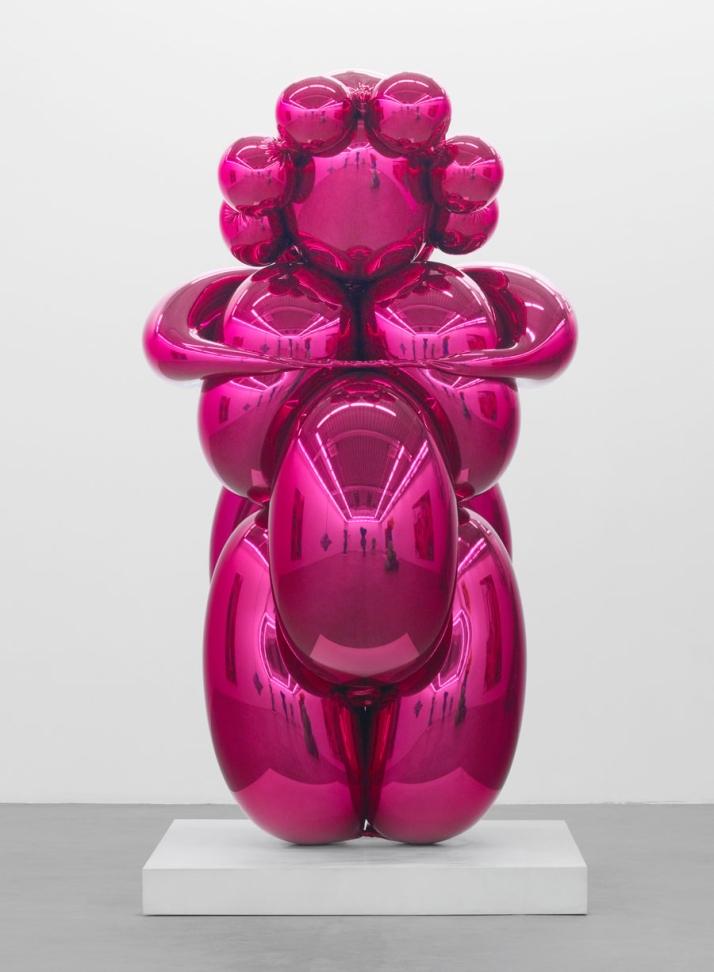 Jeff Koons Balloon Venus Magenta