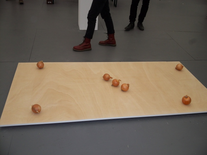 Onions on a Board