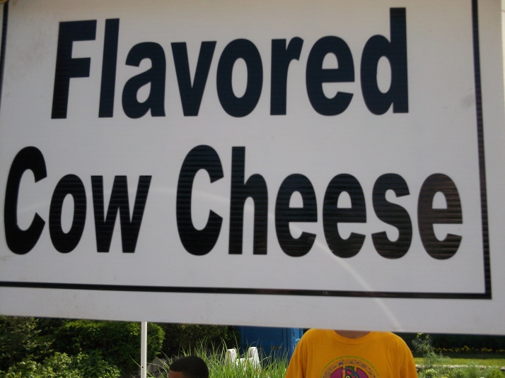 Flavored Cow Cheese