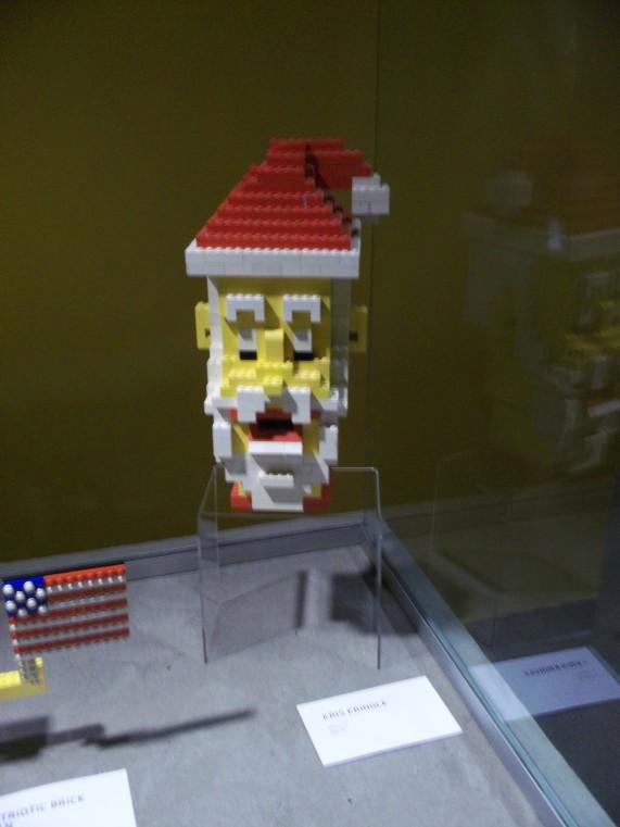LEGO Santa Face