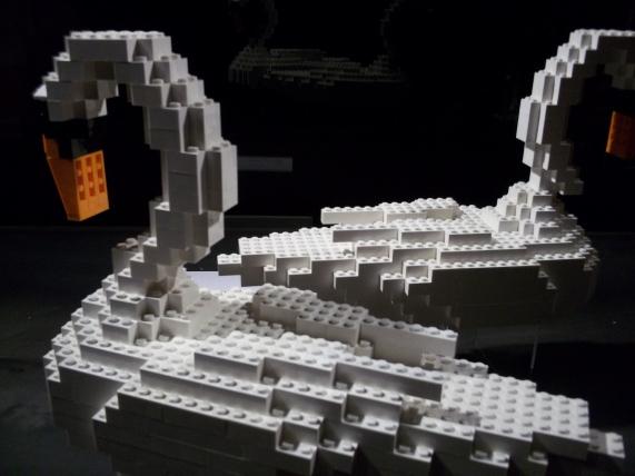 LEGO Swans