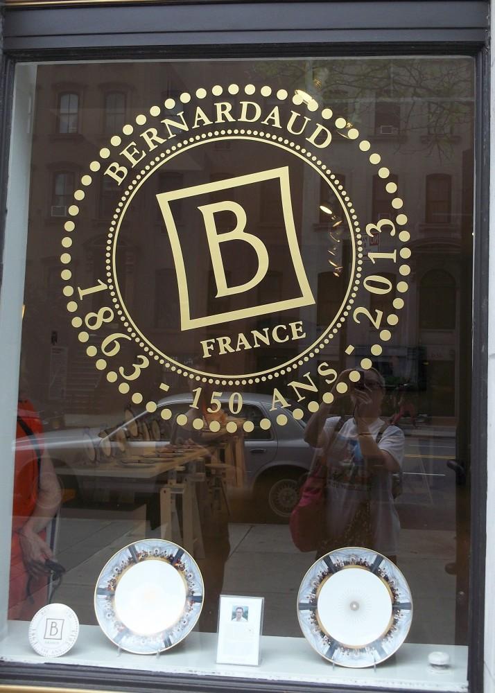 Bernardaud Signage