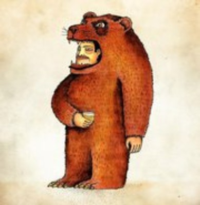 Erik Caplan Bear Suit