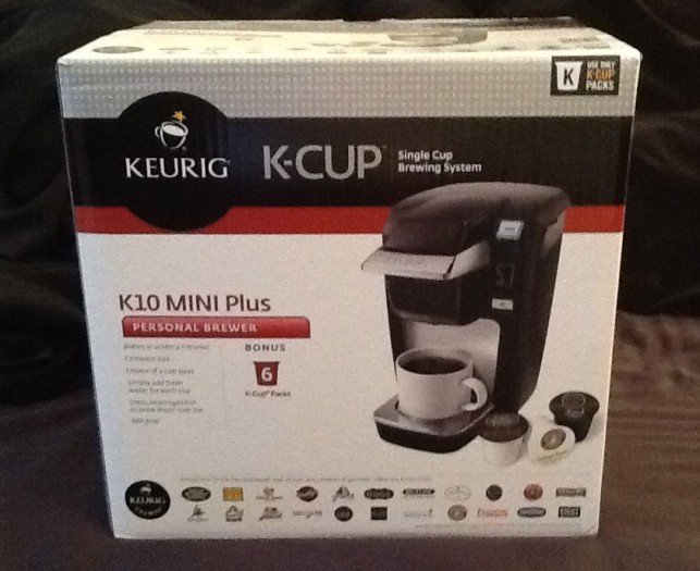 Keurig C-Cup K10 Mini Plus Coffee Maker