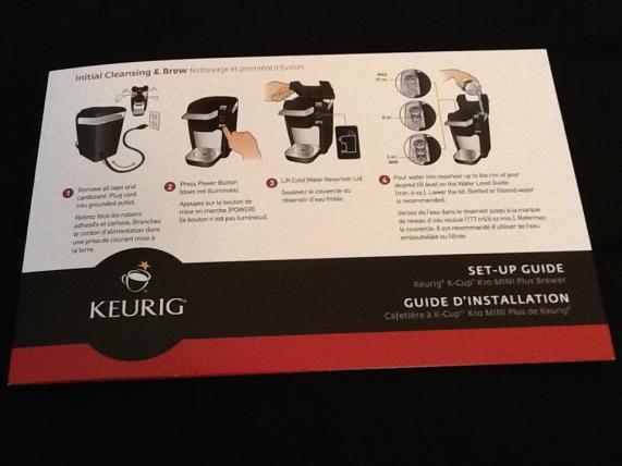 Keurig Coffee Maker K10 Manual : Product Review: Keurig K-Cup K10 Mini Plus Coffee Maker! The Worleygig