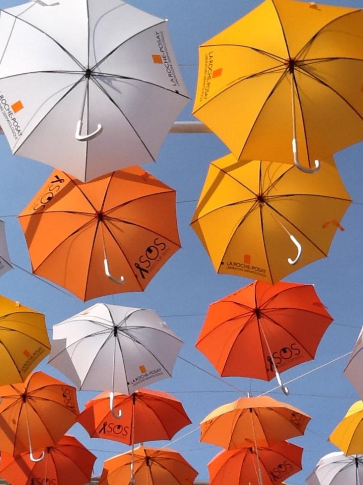 BMF Media Umbrellas Installation2