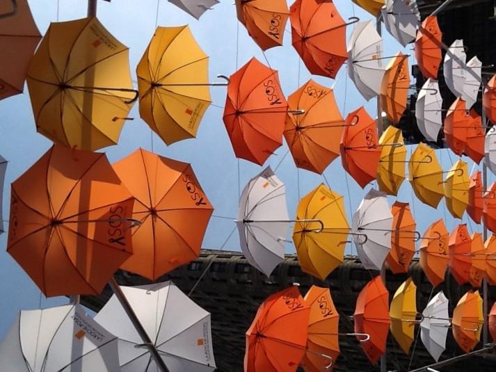 BMF Media Umbrellas Installation
