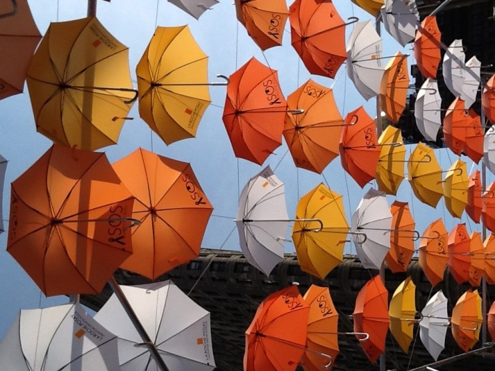 BMF Media Umbrellas Installation