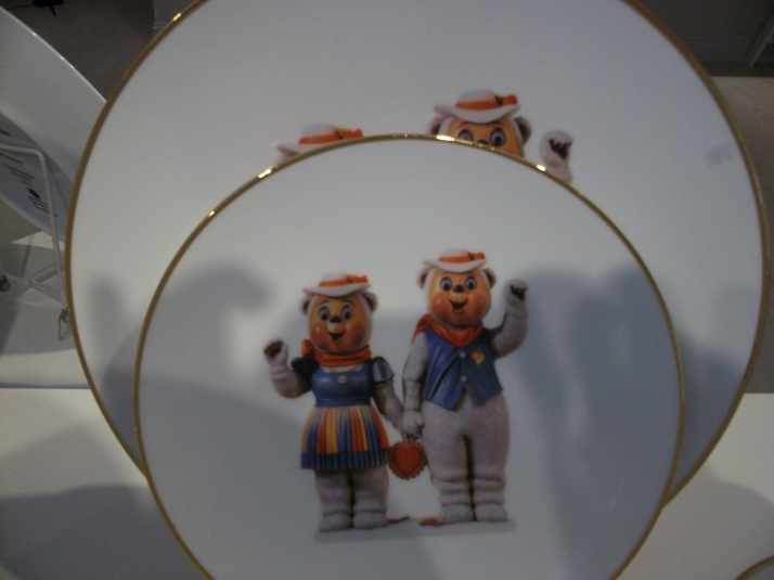 Koons Banality Bear Plates
