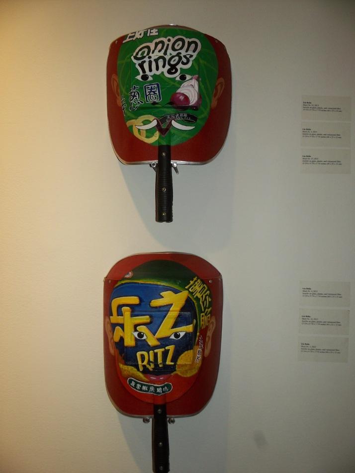 Liu Bolin Snack Masks