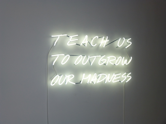 Alfredo Jaar Tech Us to Outgrow Our Madness