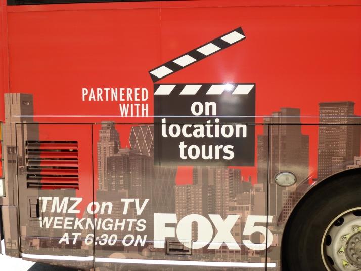 TMZ Bus Exterior Detail