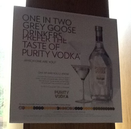 Purity Vs Grey Goose