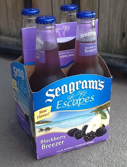 Seagrams Escapes Four Pack