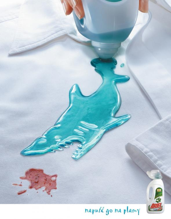 Shark Attack Stain Remover Ad