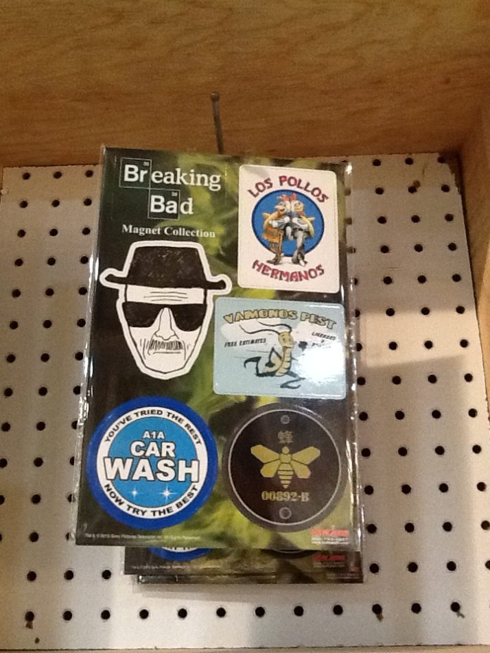 Breaking Bad Magnet Set